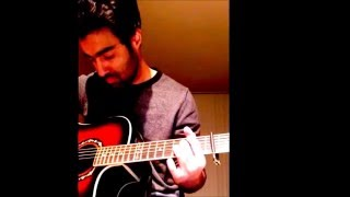 Tu Mera Nahi   Guitar Cover   Mera Naam Yousuf Hai   Saad Sultan Ft. Rizwan Anwar & Aamir Aly