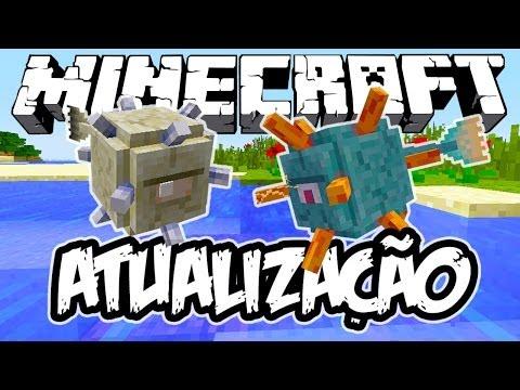 NOVO MOB E DUNGEONS! - Atualização de Minecraft (NOVA)