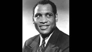 "Paul Robeson Sings ""The Old Folks at Home"""