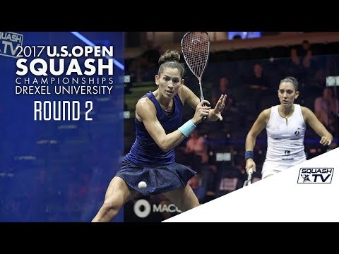 Squash: Women's Round 2 Roundup Pt. 2 - U.S. Open 2017