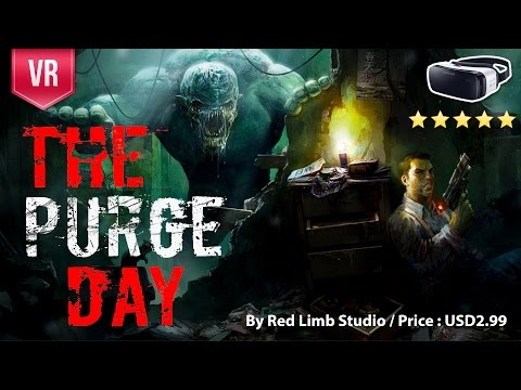 The Purge Day Gear VR - Choose your weapon and fight against alien swarm
