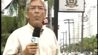 Materia para o Programa de Televisão Domingo Espetacular da Rede RECORD Guaruja SP 04/01/09