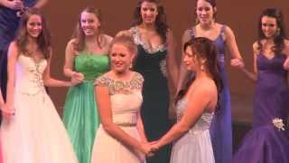 Crowning Of Miss NHOT 2014 Caroline Carter