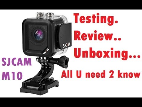 SJCAM M10 Mini Cube Camera - All you need to know with video/image sample.