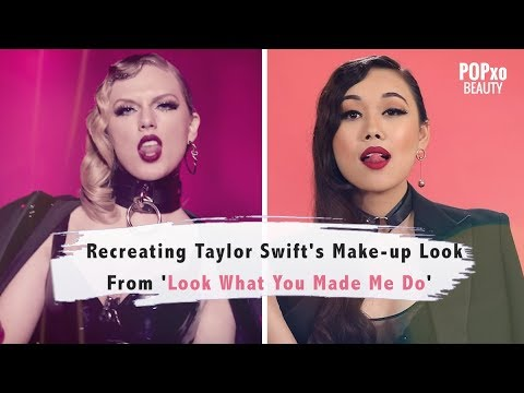 Recreating Taylor Swift's Make-Up Look From 'Look What You Made Me Do' - POPxo Beauty
