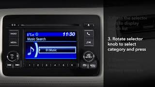 Honda HR-V: How to Use Bluetooth® Audio: LCD Audio Models