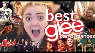 THE BEST GLEE PERFORMANCES... a tipsy rant...