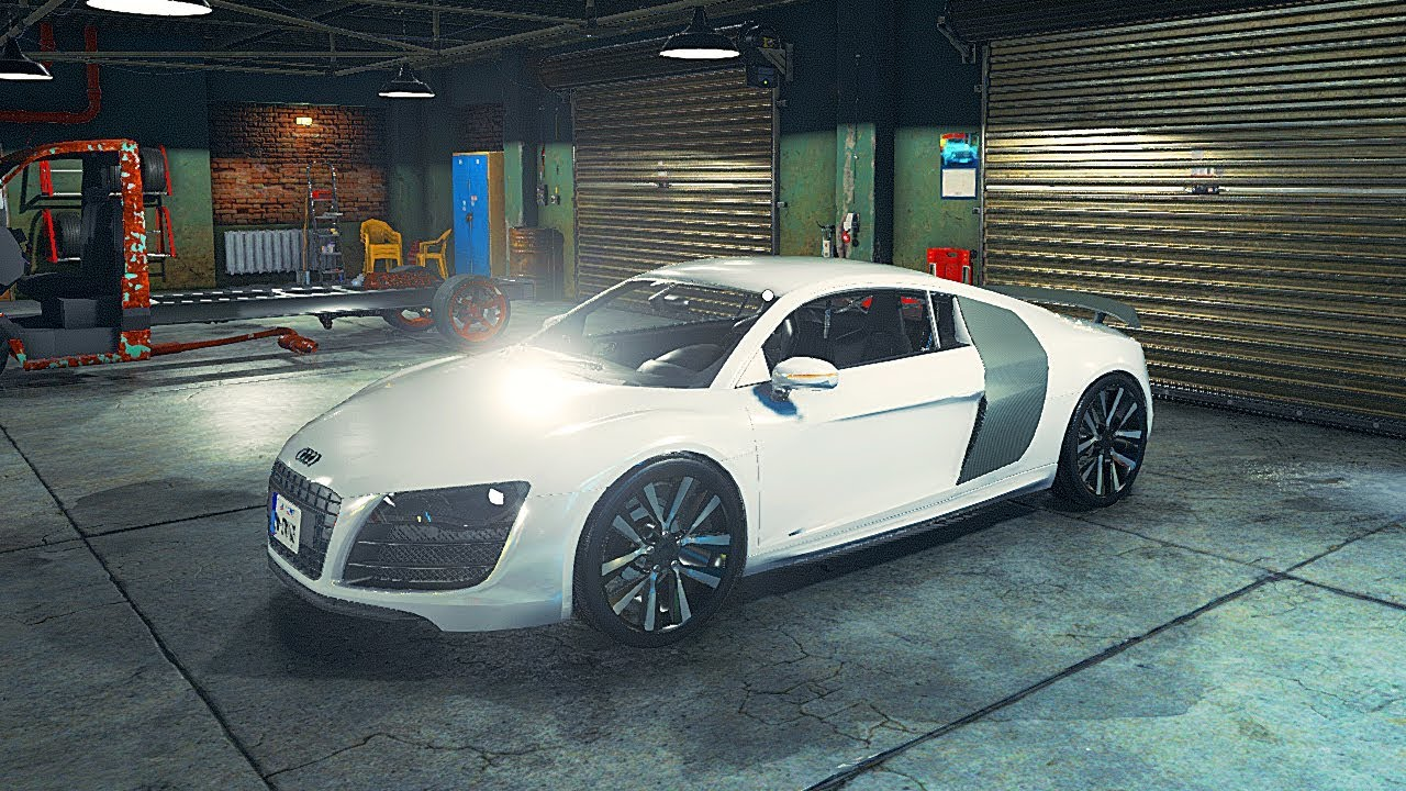 car mechanic simulator 2018 audi r8 l mod youtube. Black Bedroom Furniture Sets. Home Design Ideas