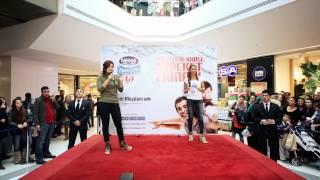 Pınar Altuğ ve Banu Kazanç ile obeziteye karşı hareket zamanı Kent Meydanı AVM'deydi