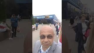 Минск, Комаровский рынок, цепь солидарности