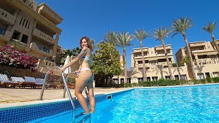 ЕГИПЕТ 2019 ПУСТОЙ ОТЕЛЬ ГДЕ ТУРИСТЫ EL HAYAT SHARM RESORT ШАРМ ЭЛЬ ШЕЙХ ОТДЫХ В ЕГИПТЕ ЗИМОЙ