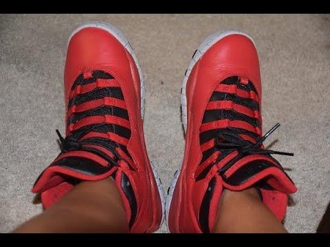 promo code 26994 e8923 On Feet: Jordan Retro 10 Bulls over Broadway GS