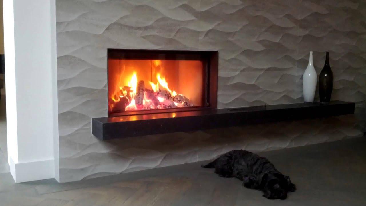kal fire heat pure 85 brandend te zien in onze showroom in. Black Bedroom Furniture Sets. Home Design Ideas