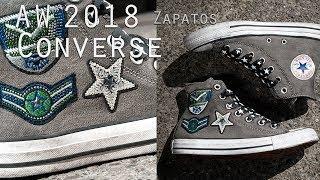 Ajustarse junto a Chapoteo  Zapatos Otoño Invierno 2018 | Catálogo Converse All Star Zapatillas Mujer -  YouTube