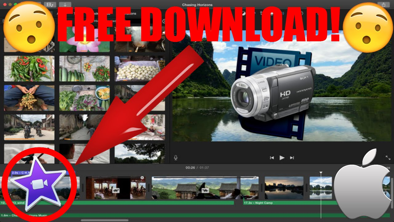 How to Download iMovie 10 1 4 For Free - 2017 (No Torrents Link in Desc )