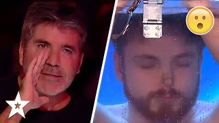 SIMON COWELL PANICS As Magic Trick Spirals Out Of Control On Britain's Got Talent 2019