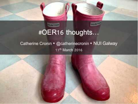 OER16: Preview and publicity