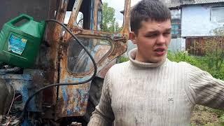 Настройка момент впрыска,клапанов на тракторе Т-40АМ