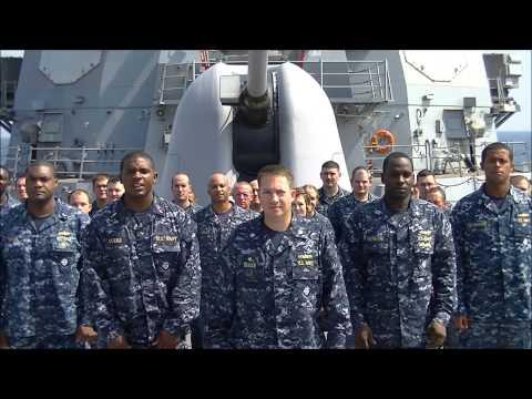USS Oscar Austin (DDG 79) Go Navy Beat Army 2012 Spirit Spot