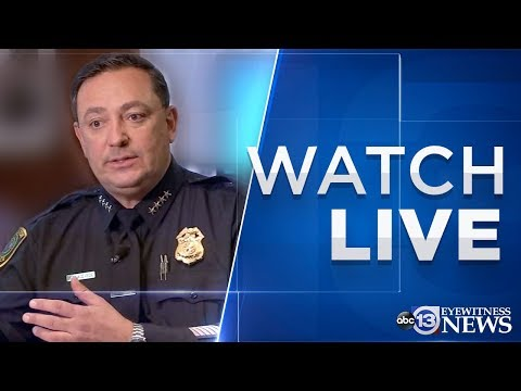 WATCH LIVE: Houston Police Chief Addresses Inmate Releases During COVID-19