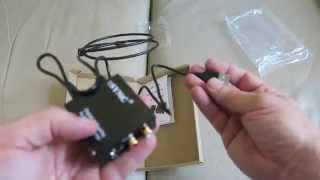 ESYNiC DAC Optical  to Analog Stereo 3.5mm Jack Audio Converter Adapter Unboxing