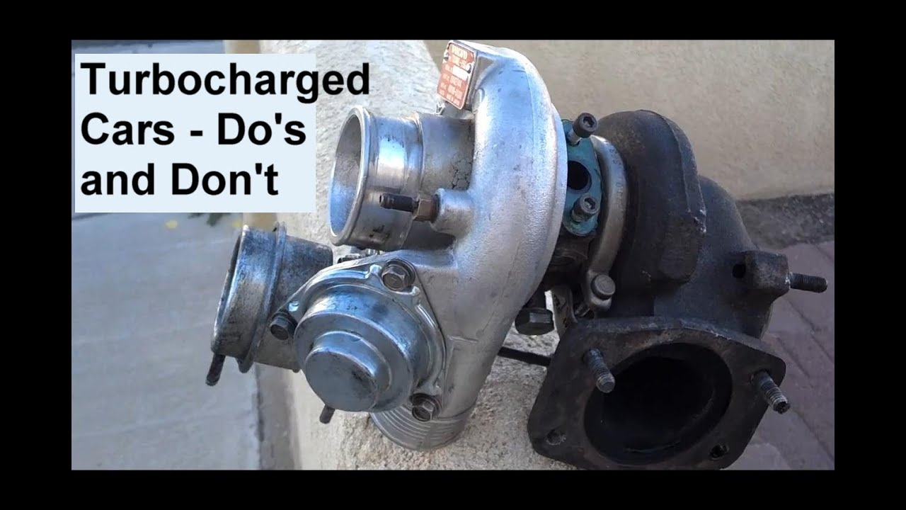 How To Care For A Car With A Turbo Charged Engine Brief Auto