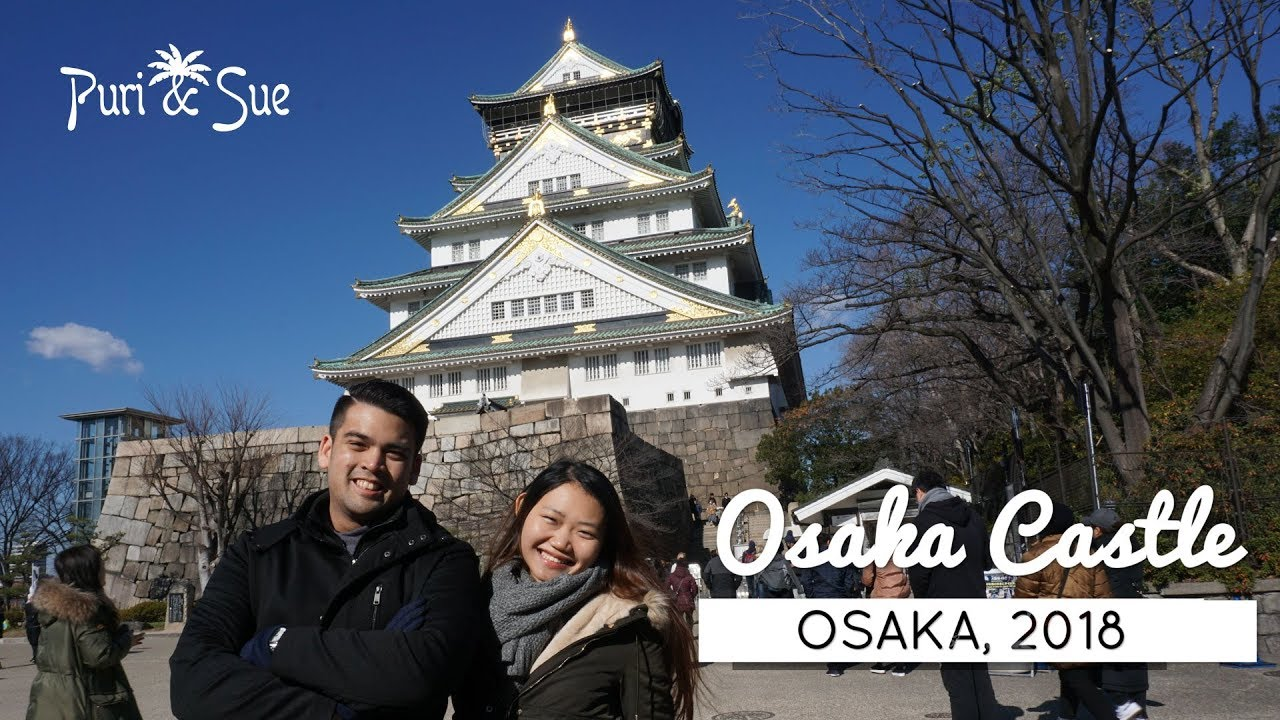 osaka castle a walk in the park winter in osaka 2018. Black Bedroom Furniture Sets. Home Design Ideas