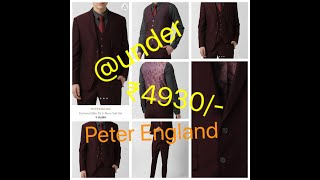 Peter England 3piece suit set Peter England suits unboxing suites for wedding Unboxing Men s suit