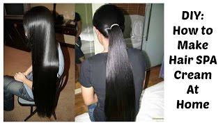 DIY|Natural & effective Hair Spa Cream|How to make hair SPA CREAM