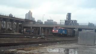 Trains on the Canal Street Wye and St. Charles Air Line - 1/26/17