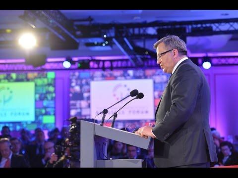 Brussels Forum 2015: Remarks + Q&A with Bronisław Komorowski, President, Republic of Poland