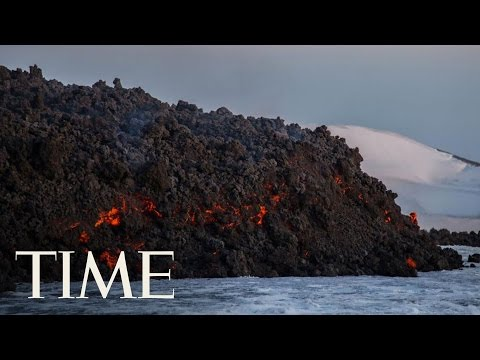 A Volcanic Explosion In Italy Injured 10 People | TIME