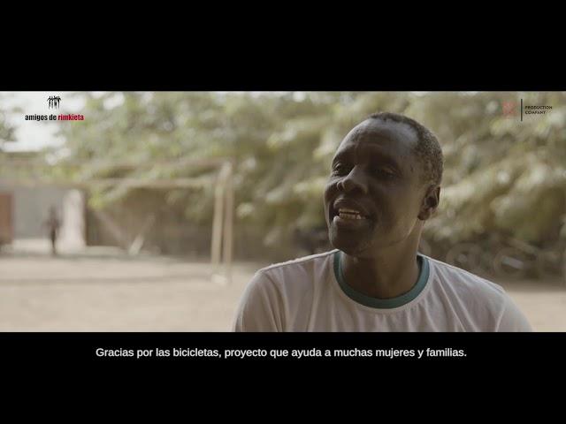 """1  DRISSA SAWADOGO, responsable del proyecto de """"Formación y Reinserción de niños de la calle y e"""