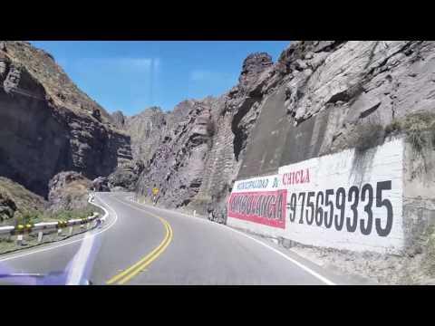 Viajando por Chicla - San Mateo - Carretera Central - Perú