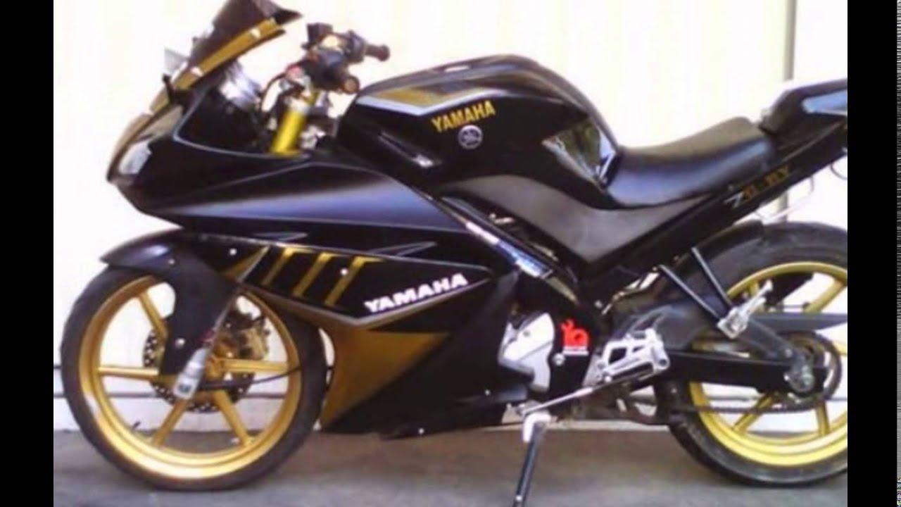 motor vixion modif ninja 4 tak | bahan modifikasi - youtube