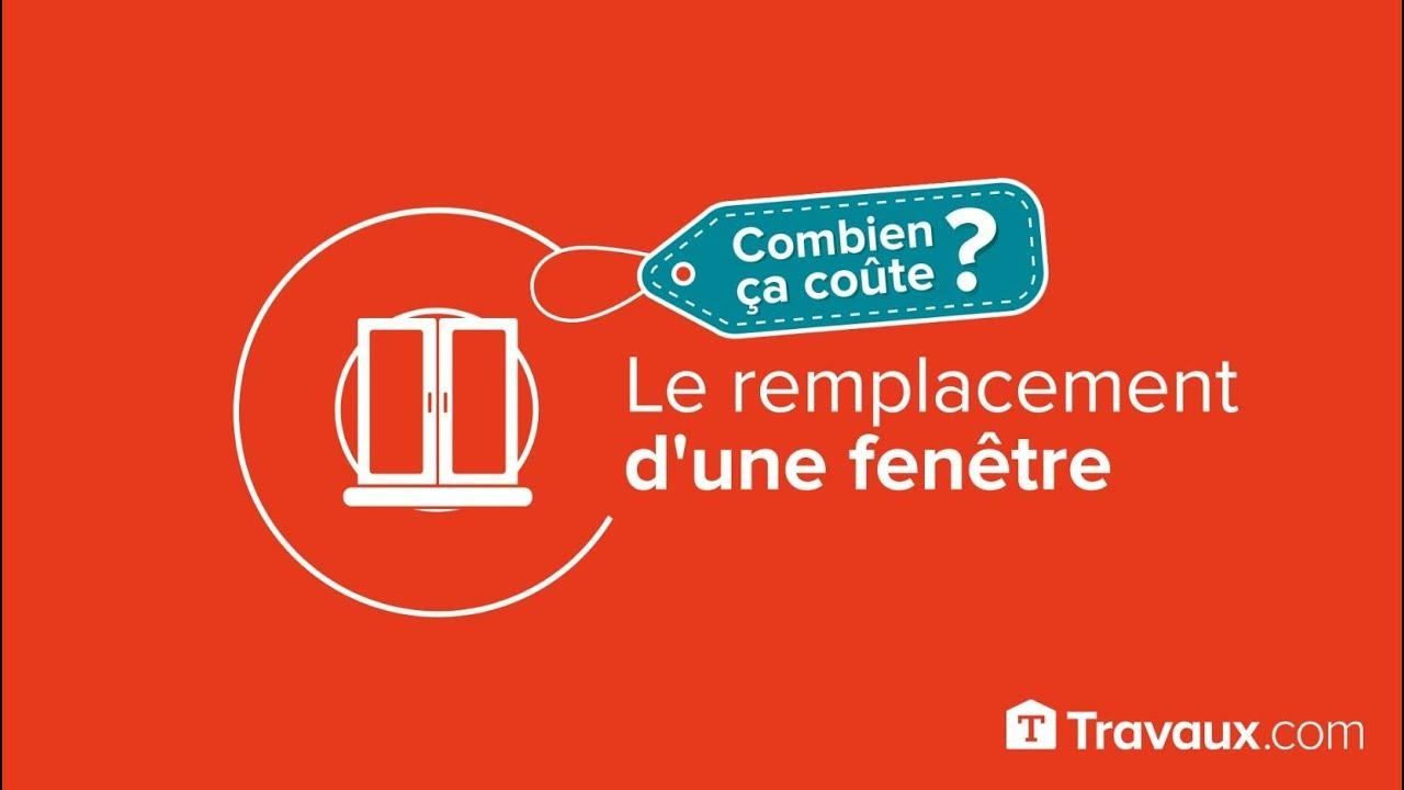 Prix De Remplacement Dune Fenêtre 2019 Travauxcom