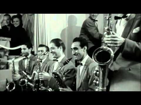 Barbara Stanwyck, (vocals: Martha Tilton),  Gene Krupa & His Orchestra.  Drum Boogie