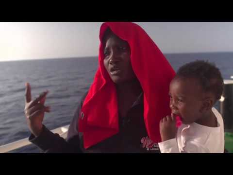 News Update Migrant crisis: On rescue patrol in the Mediterranean 08/05/17