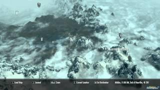 Fort Dawnguard Location on Map (Skyrim)