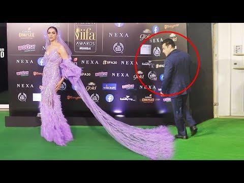 Salman Khan FUNNY REACTION On Deepika Padukone's LONG Dress At IIFA Awards 2019 Mp3