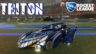 Triton | Arctagon |Car Preview - Rocket League