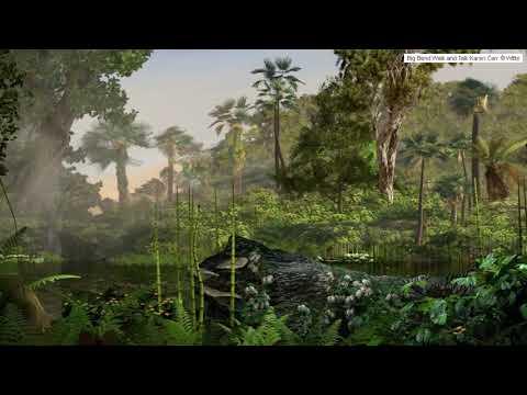 Witte Museum Cretaceous Coastal Plant Community