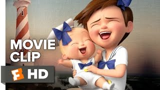 The Boss Baby Movie CLIP - Awkward Photo Shoot (2017) - Alec Baldwin Movie
