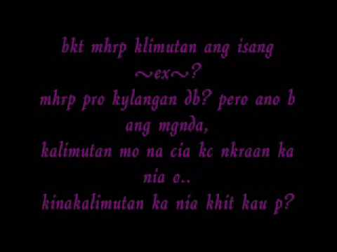 Sad Quotes About Love And Pain Tagalog : tagalog sad love quotes - YouTube