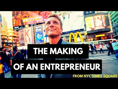 The Making of an Entrepreneur - A Coach Jimmy Creation from NYC Times Square