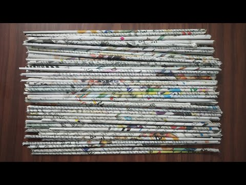 3 Easy Waste Material Craft Ideas with newspaper | DIY Best out of waste