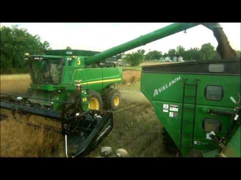 Clarksville,TN Canola Harvest