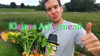 Manollo Floyd ACKERMENÜ | Veganes Menü einfach selber machen  [Rezept vegan ] 2014 Thumbnail