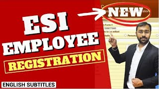 🔴ESI New Employee Registration Process Online | ESIC Rules Update 2020