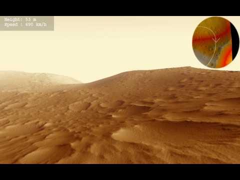 Olympus Mons Basal Scarp Animation